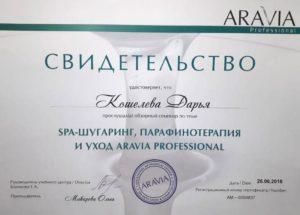 Кошелева Дарья - Спа шугаринг