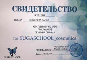 Кошелева Дарья - обзорный семинар